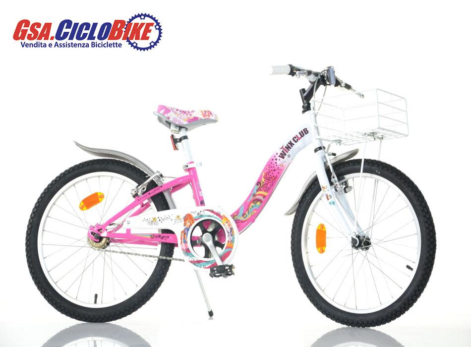 Bicicletta Bambina Misura 20 Personaggio Winx